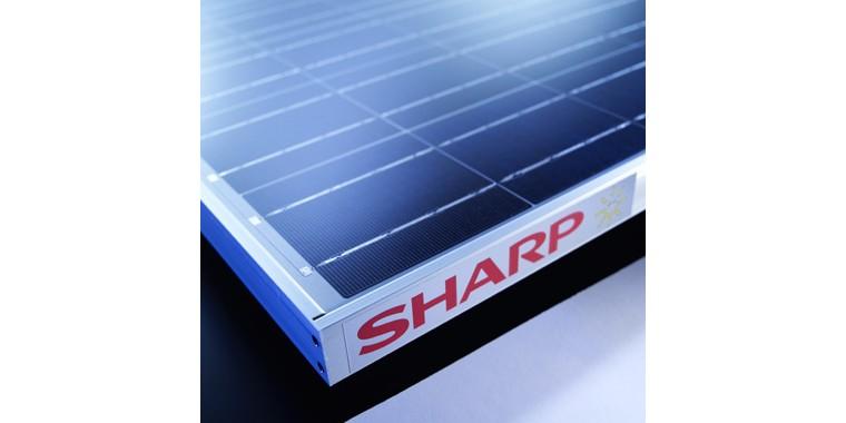 Rekord hatékonyságú napelemek a SHARP-tól