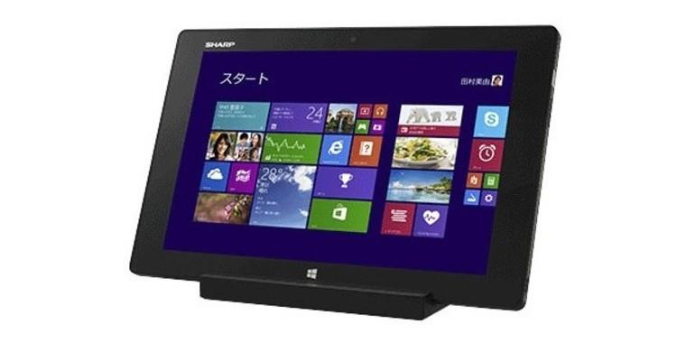Windows-os táblagép a Sharp-tól