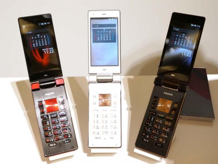 Szétnyitható telefont mutatott be a SHARP